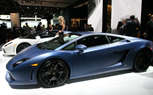Lamborghini's New Matte-Blue Paint