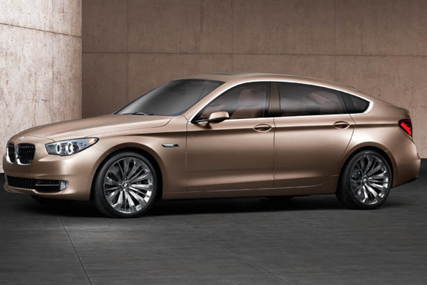 Official: BMW Concept 5 Series Gran Turismo Revealed