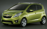 Chevy Spark Breaks Cover Ahead of Geneva Auto Show