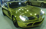 Gold SLR in Dubai Trumps Gold C63