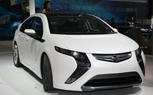 Opel Ampera at the Geneva Auto Show