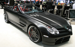 Brabus Brings Matte-Black SLR to Geneva