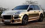 Gold Is The New Matte-Black: Porsche Cayenne Is The Next Victim