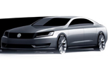 Secret New Volkswagen Sedan Coming in 2012