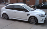 Ford Focus RS Spied in Detroit