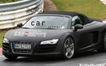 Audi R8 V10 Roadster Spied In Final Testing On Nürburgring
