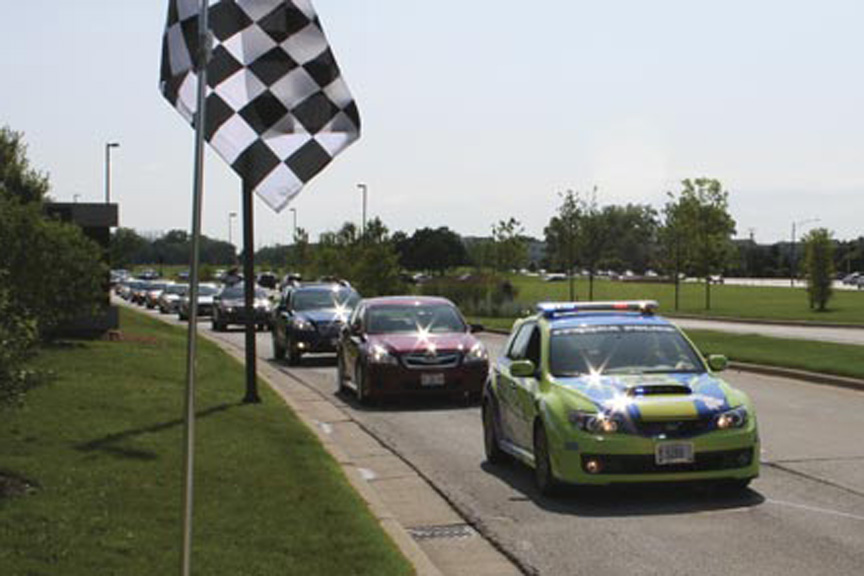 Subaru of America Seeks Guinness World Record for Largest Suby Parade