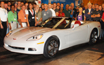 Chevy Rolls Out 1.5 Millionth Corvette: A 2010 Grand Sport