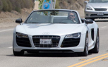 Report: Audi R8 Convertible Spied During Iron Man II Shoot