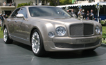 Breaking: Bentley Mulsanne Revealed at Pebble Beach