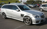 Spied: 2010 E63 Wagon Hanging Out at the Track