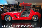 Frankfurt 2009: Gullwing Mercedes SLS AMG World Premiere