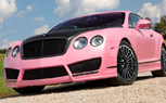 Frankfurt Preview: Mansory Vitesse Rosé is a Bentley for Barbie