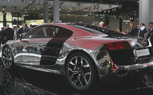 Frankfurt 2009: Chrome Audi R8 is a Dubai Dream