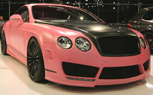 Frankfurt 2009: Live Photos of Mansory's Barbie-Pink Bentley