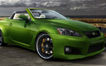 SEMA Preview: Fox Marketing Building Turbocharged, Widebody Lexus IS350C