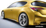 Official: Lexus LF-Ch Concept Revealed in First Official Photo