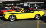 SEMA 2009: Mr. Norm's Garage Rolls into SEMA With a Rainbow of Challenger Convertibles