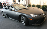 SEMA 2009: Matte Black Lexus LFA Makes North American Debut in Las Vegas