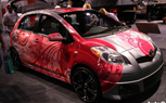 SEMA 2009: Toyota's Hard Kandy Yaris is Aimed at Female Buyers… Duh!