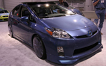 SEMA 2009: Five Axis Priuses Make Going Green Stylish… and Blue