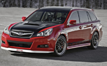 SEMA 2009: Subaru Builds a 300-hp Legacy Wagon… and We Want It