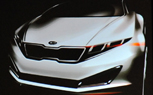 Report: Kia K9 Concept Design Sketch Gives First Look at Genesis Sedan Sister Car