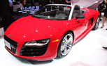 LA 2009: Audi R8 Spyder Drops Its Top In the Golden State