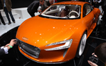 LA 2009: Audi E-Tron North American Debut With Electric Orange Paint