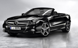 Detroit 2010: Mercedes SL550 Night Edition Launches in Matte-Black