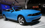 Detroit 2010: Ford Mustang GT Convertible Debuts With 5.0-Liter Goodness