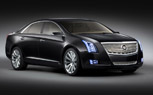 Detroit 2010: Cadillac XTS Platinum Concept is a 350-hp Plug-In Hybrid