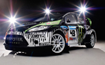 Ken Block's Ford Fiesta Rally Car Unveiled
