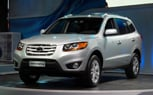 Detroit 2010: 2010 Hyundai Santa Fe Mild Update Includes Big Changes