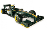 Lotus Unveils T127 Formula One Race Car for 2010 Season: With Video
