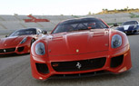 Ferrari 599XX Makes Track Debut in Valencia, With Felipe Massa Behind the Wheel