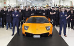 Lamborghini Produces 4,000th Murciélago Model for Chinese Customer