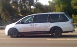 Spied: 2011 Honda Odyssey Caught Testing in California