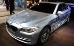 Geneva 2010: BMW Concept 5 Series ActiveHybrid Is a Blue Look at BMW's Green Future