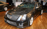 New York 2010: Cadillac CTS-V Sport Wagon Concept Debuts on Eve of NY Auto Show