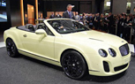 Geneva 2010: Bentley Continental Supersports Convertible World Premiere