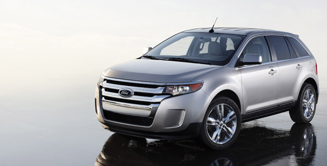 The 2011 Ford Edge will be the first vehicle to receive the new 2.0-litre turbocharged EcoBoost engine