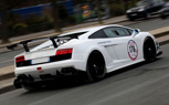 Lamborghini Gallardo Super Trofeo Race Car Spotted On Public Roads in France