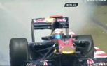 Front Wheels Simultaneously Fly Off Toro Rosso F1 Car During Chinese GP Testing