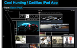 Cadillac and Cool Hunting Deliver First iPad App