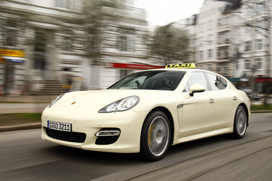 Porsche Panamera Turbo Taxi. Can a 'Ring Version be Far Off? » AutoGuide.com News