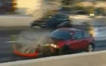 Drag Racing Honda CRX Destroyed When Flywheel Flies Loose [video]