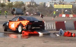 Drifting Gone Wrong: Camera Man Becomes Collateral Damage