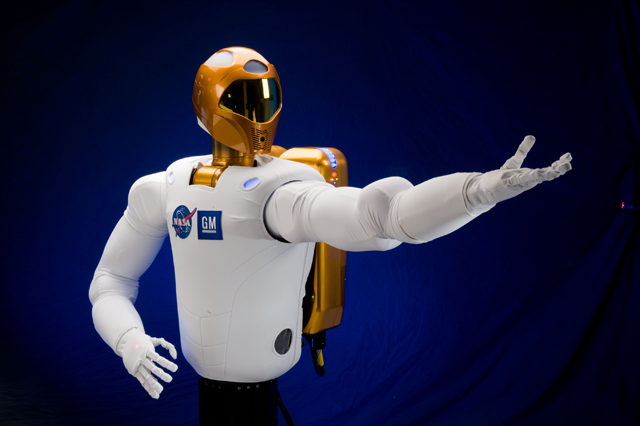 GM and NASA Announce Robonaut 2