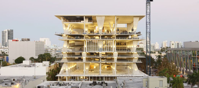 New Buick Cars >> Herzog & de Meuron Parking Garage in Miami is Better than ...
